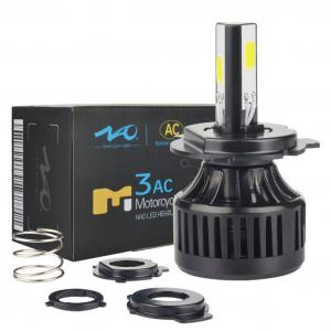 Bombillo Hid Led 4000lm Corriente Alterna Moto H4 40w 8-80 V