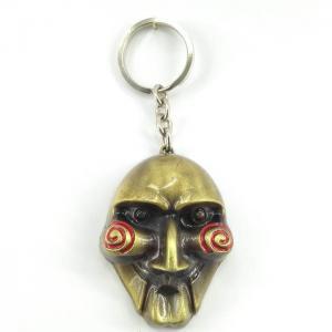 Llavero Metálico De Colección Mascara 3d Jigsaw