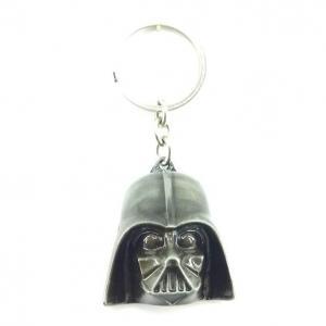 Llavero Metálico De Colección Mascara Darth Vader Star Wars