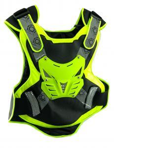Pechera Con Protección Y Refectivo Tipo Chaleco Para Moto Bicicleta Marca Over