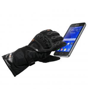 Guantes Tactiles Con Proteccion 100% Impermeables Caña Larga Moto Marca Suomy