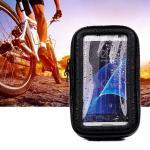Estuche Con Soporte Porta Celular/ Gps Impermeable Para Motocicleta Ciclismo